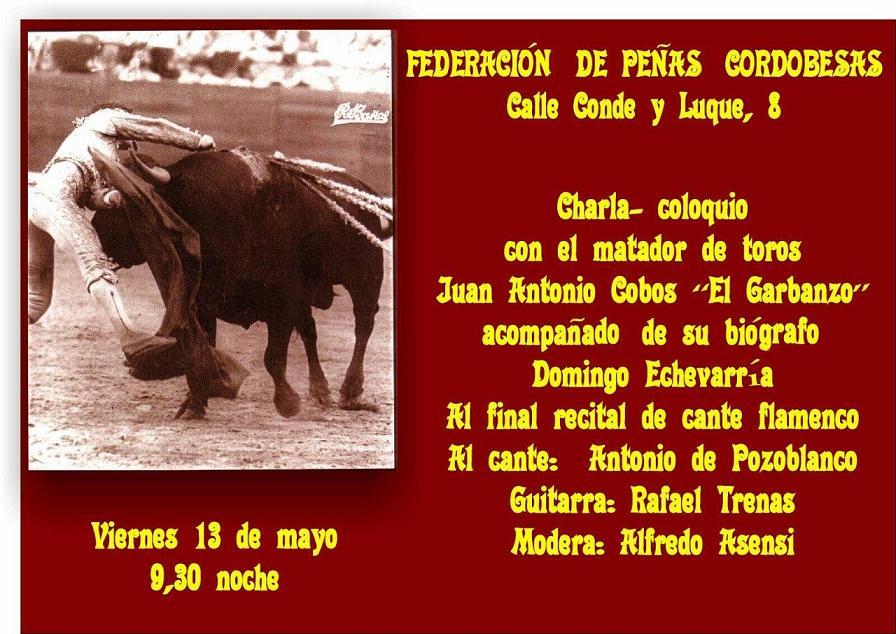 CHARLA – COLOQUIO