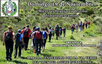 Ruta Senderismo 19-11-2017