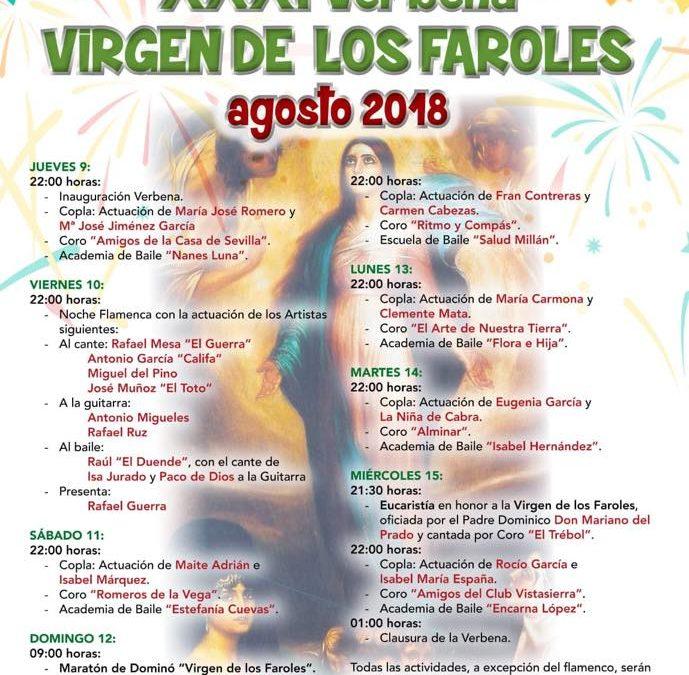 XXXI Verbena Popular Virgen de los Faroles.