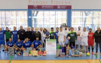 Partido Fútbol Sala benéfico «REGALA UN JUGUETE»