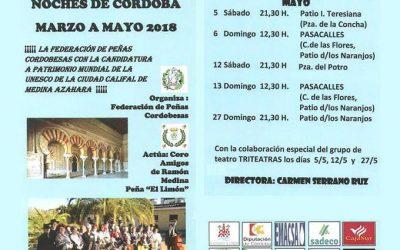 XXVIII CICLO DE SERENATAS EN LAS NOCHES DE CORDOBA