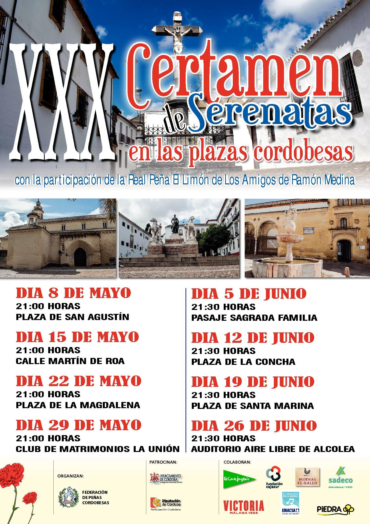 XXX CERTAMEN DE SERENATAS